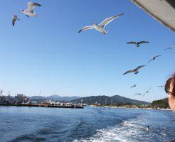 気仙沼大島へのフェリー