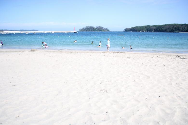 気仙沼大島の小田の浜