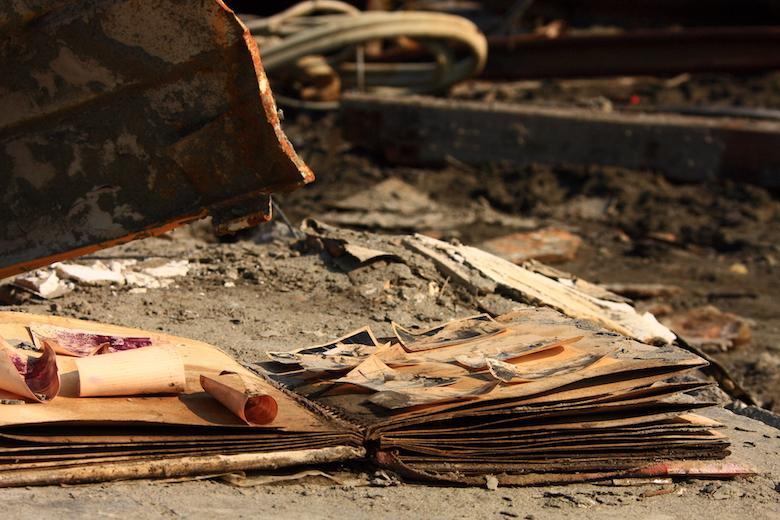 東日本大震災の被災物