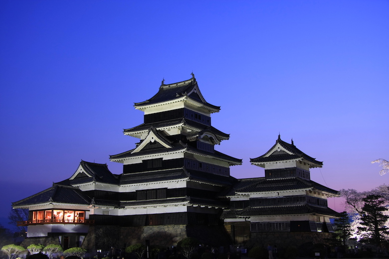 松本城の月見櫓