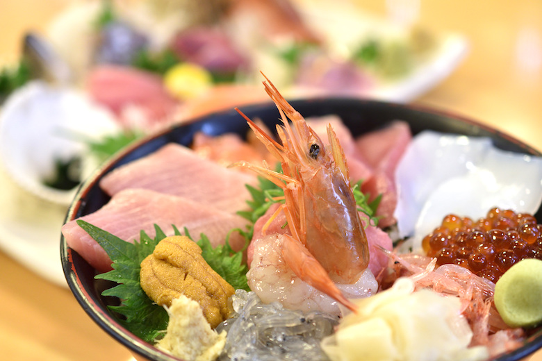 沼津港の海鮮丼