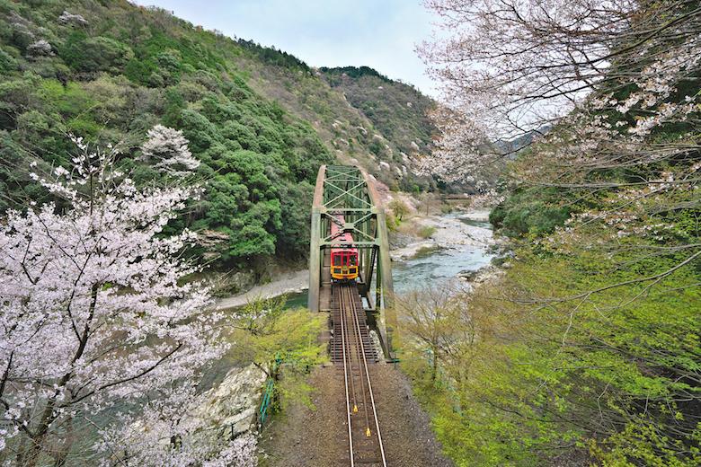 保津川トロッコ列車