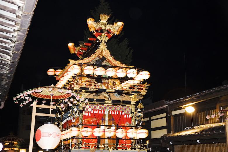 高山祭のまつり屋台