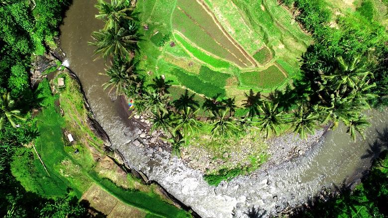 アユン川とライステラス