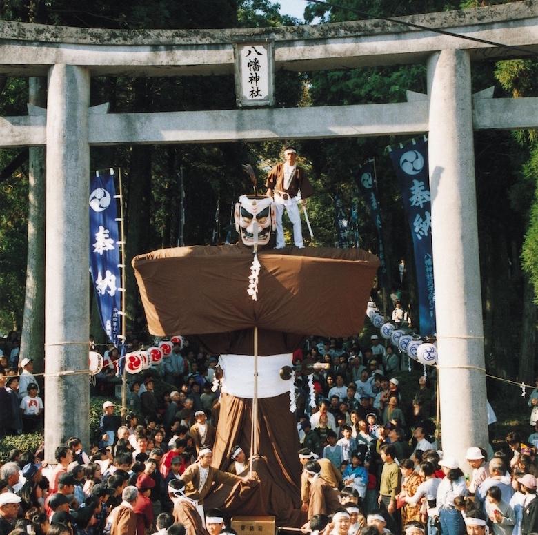 岩川神社の弥五郎どん祭り