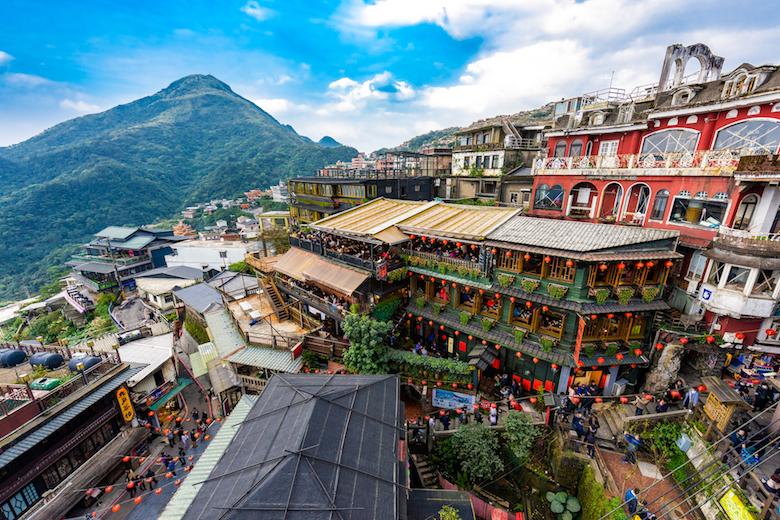 台湾で人気のスポット九份