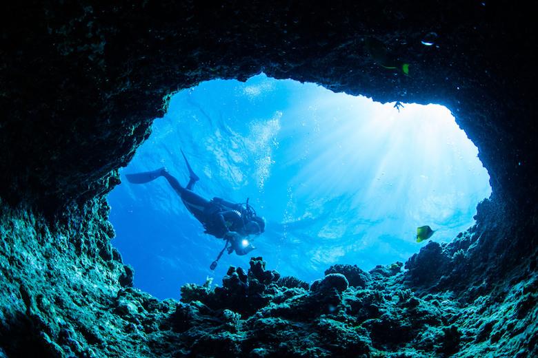 沖縄でダイビング